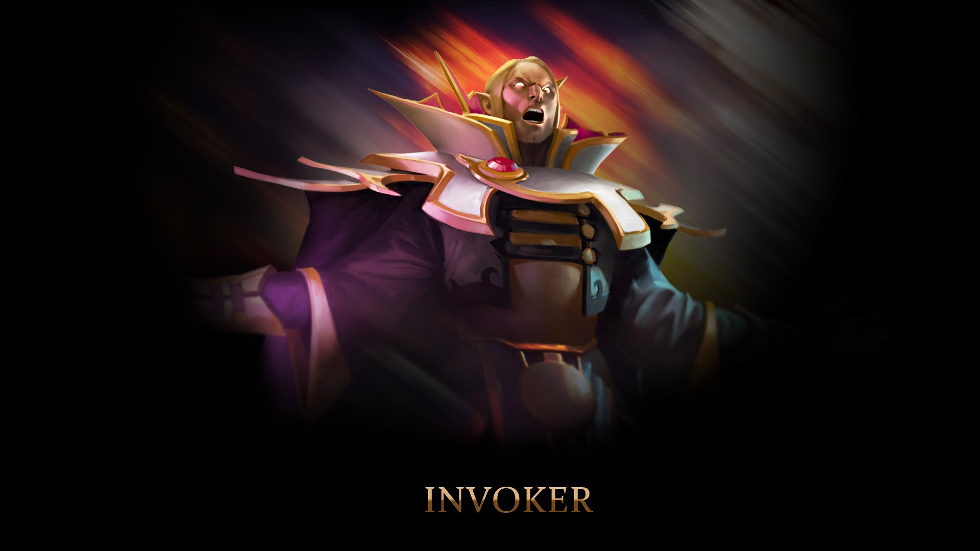 Invoker Dota 2 v5 Wallpaper HD