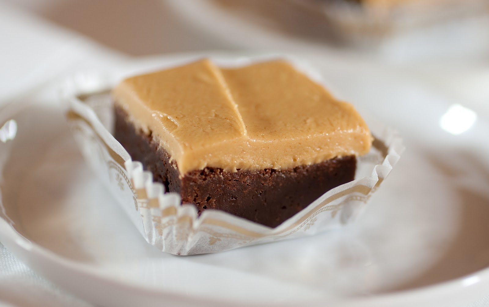 Tish Boyle Sweet Dreams: Fudgy Brownies with Peanut Butter Frosting