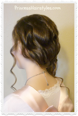 Pretty hairstyle for special occasions