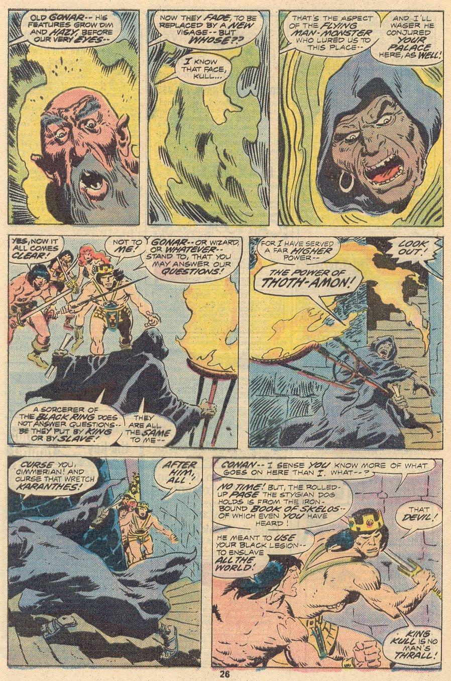 Conan the Barbarian (1970) Issue #68 #80 - English 17