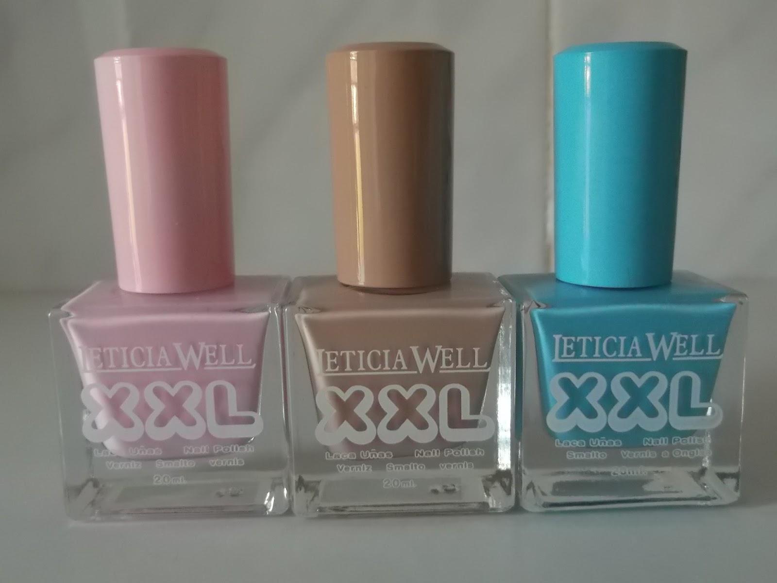 Belswan: Esmaltes de uñas y delineadores de Leticia Well