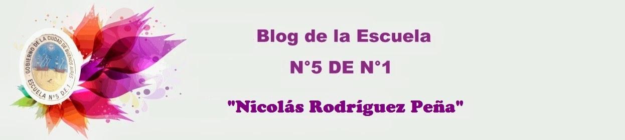 Blog de la Escuela N° 5 D.E. 1