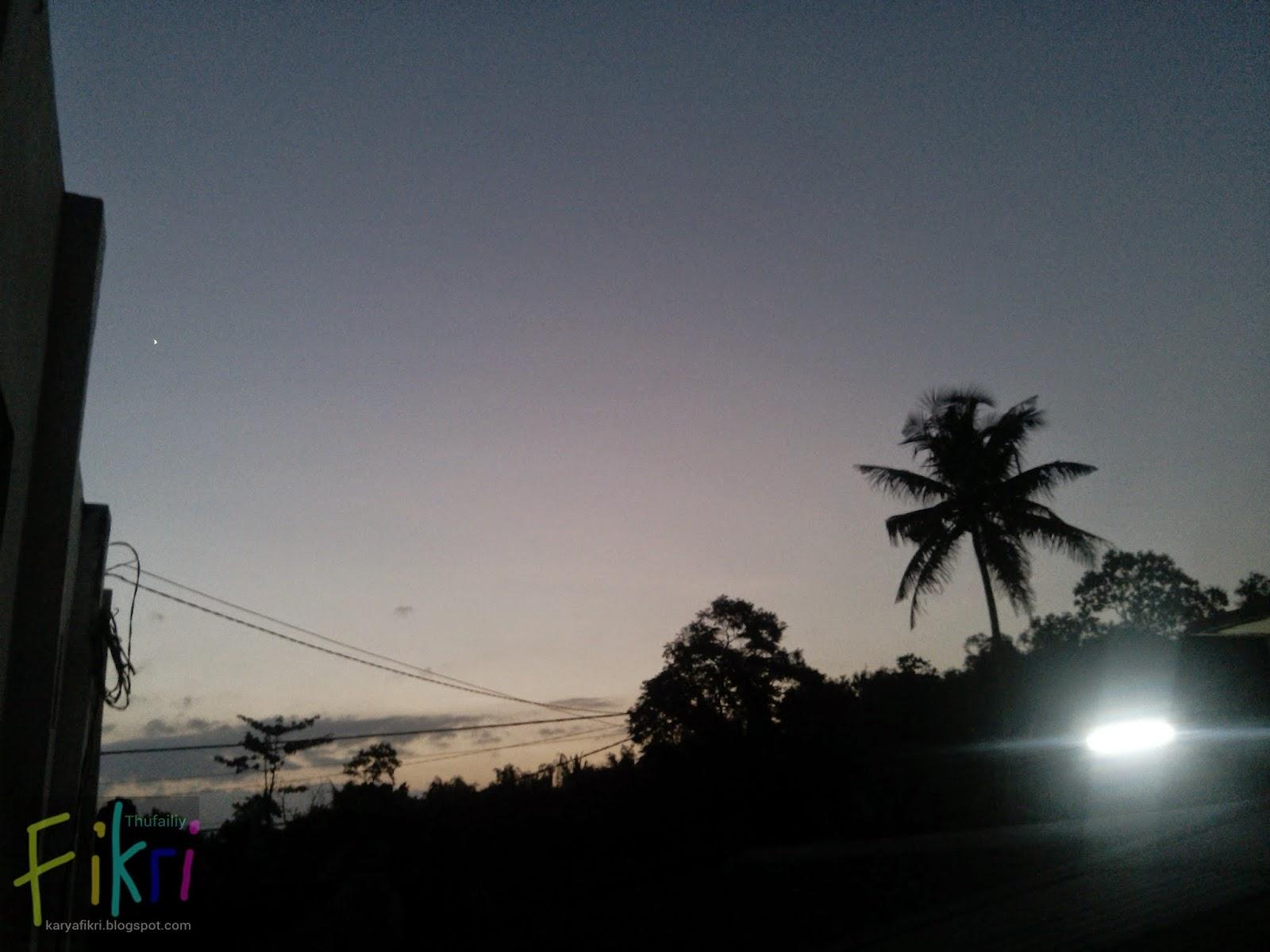IMG_20130802_175709 Review hasil jepretan Huawei Ascend G600 (foto langit saat matahari terbenam) - oleh karyafikri.blogspot.com - flash