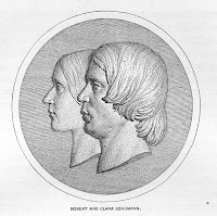 Profiles of Clara and Robert Schumann