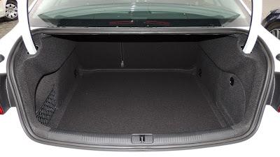 Audi A3 Limuzyna - bagażnik