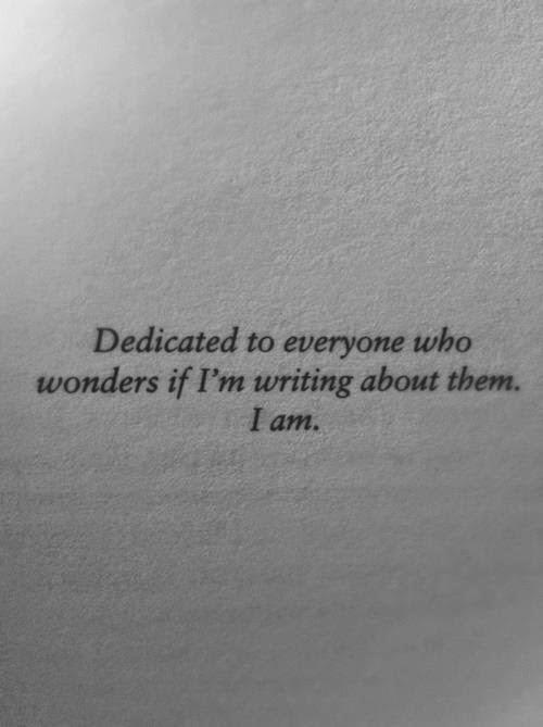 Dedicated...