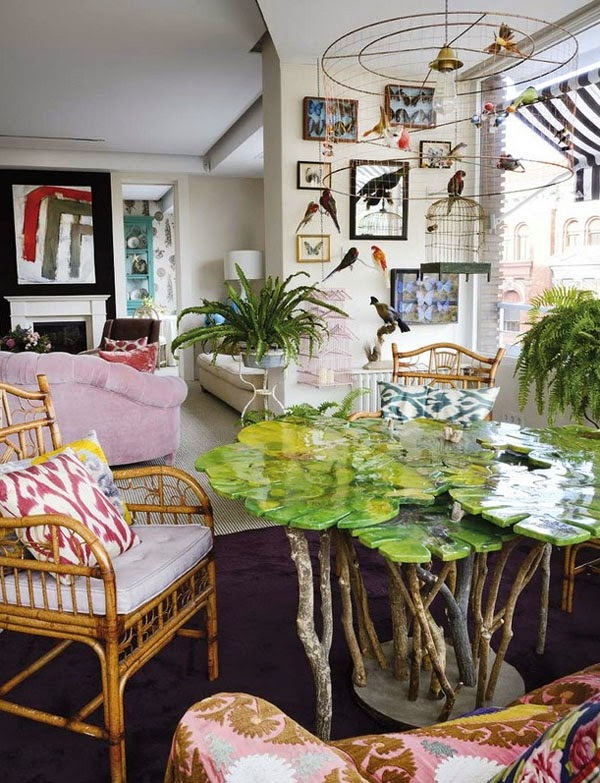 A Bold and Eclectic Spanish Abode For Marta de la Rica From Style Fragment