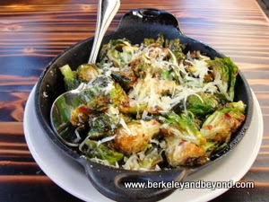 Brussels sprouts at Forge restaurant in Oakland, CA