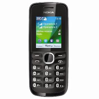 Nokia 110 Não tem homepage