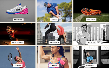 Buy Nike sports products with free shipping