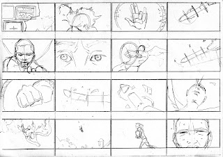 "©2013 Snow Patrol's ""The Lightning Strike"" Storyboards (4 of 6). Artwork by Dulani Wilson. All rights reserved to respective owners."