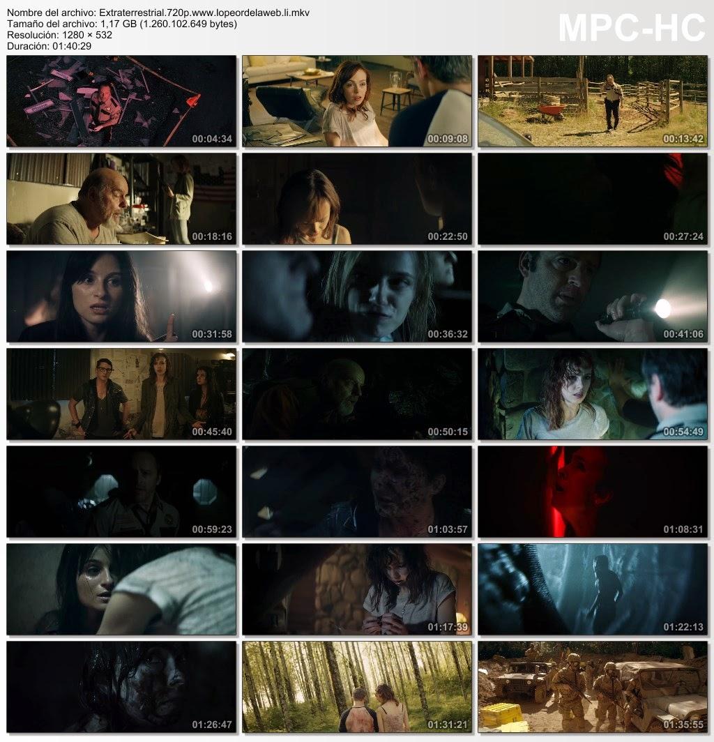 Extraterrestrial (2014) BRrip 720p Subtitulada