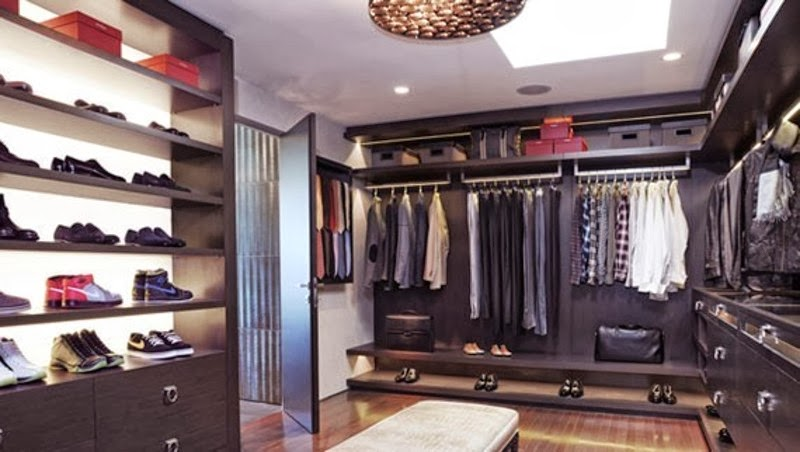 Various Photos With Dressing Rooms, Closets Or Wardrobes