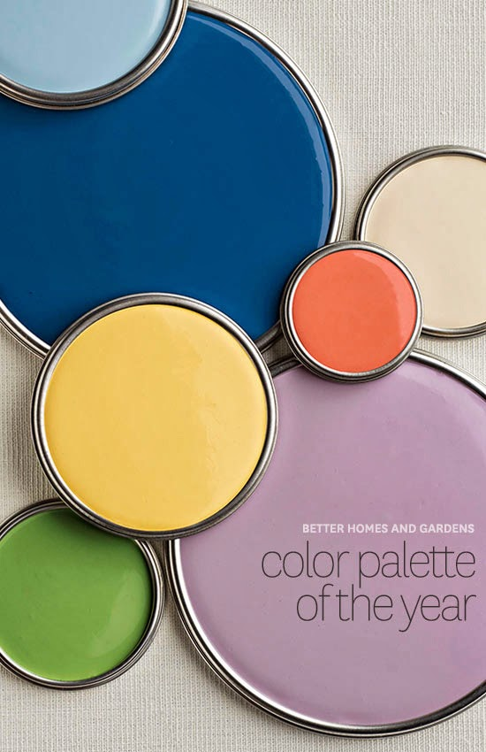 Aunt Bee's House...: 2014 Palette of the Year