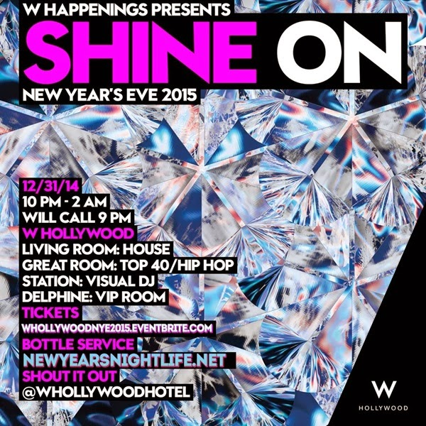 W Hollywood New Years 2015 Hollywood La Nightlife 2018 Nightclubs Events Guide