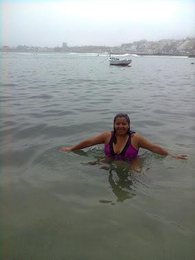 Disfrutando del mar!!!!!