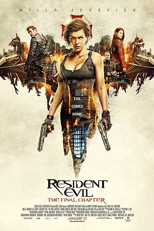 Resident Evil The Final Chapter (2016) Full Movie Dual Audio [Hindi+English] Complete Download 480p [350MB]