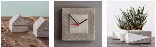 basteln macht gl cklich kreatives aus beton betondesign. Black Bedroom Furniture Sets. Home Design Ideas