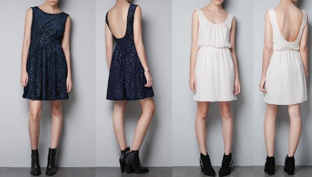 vestidos casuales zara otoño invierno 2012 2013