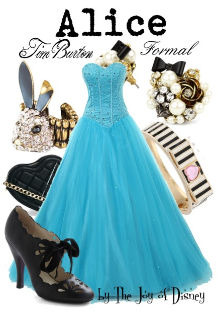 alice in wonderland prom, disney prom, prom dress, prom outfit