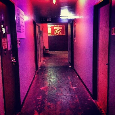 The hollowed halls at the Bedrock Studios - Greyson Chance