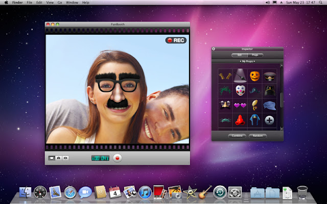 Mac photo for booth