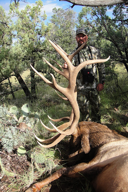 Todd Brooks Arizona Archery Elk Picture with Colburn and Scott Outfitters 8