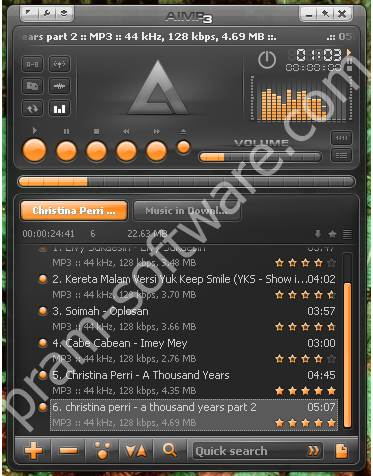 Screenshot AIMP 3.55.1338