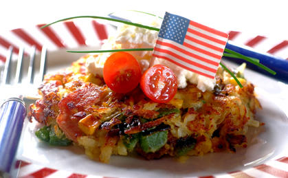 Kitchen Magic: Bacon & Corn Hash Browns - USA