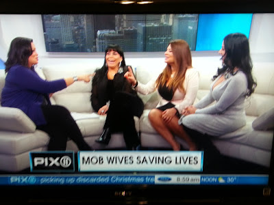 Mob Wives: Renee, Karen & Ramona on WPIX | M.O.B. Wives
