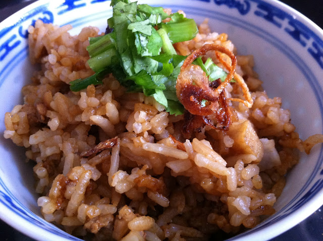 Confessions of a Weekend Cook: Yam Rice