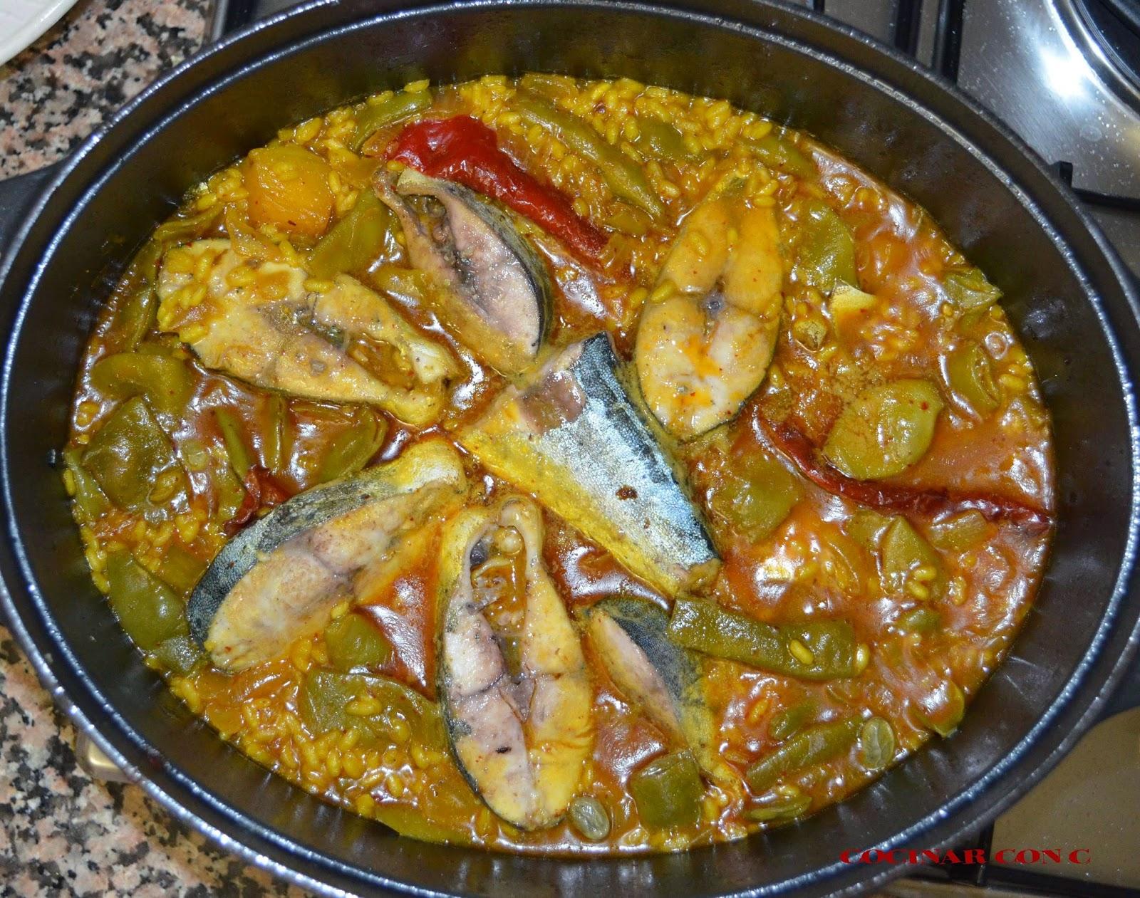 Cocinar con c arroz meloso de llampuga y calabaza for Cocinar fideos de arroz