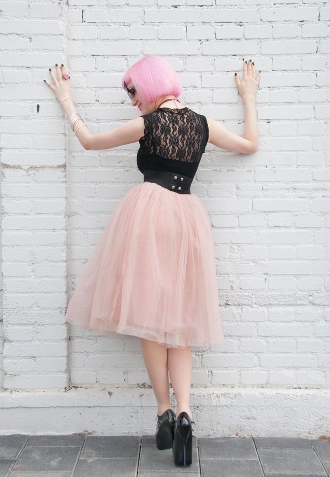 Rare London, tutu skirt, carrie bradshaw look