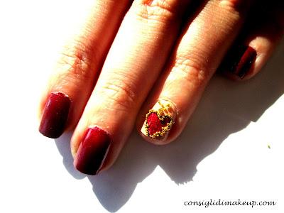 Nail art: Love Love Love