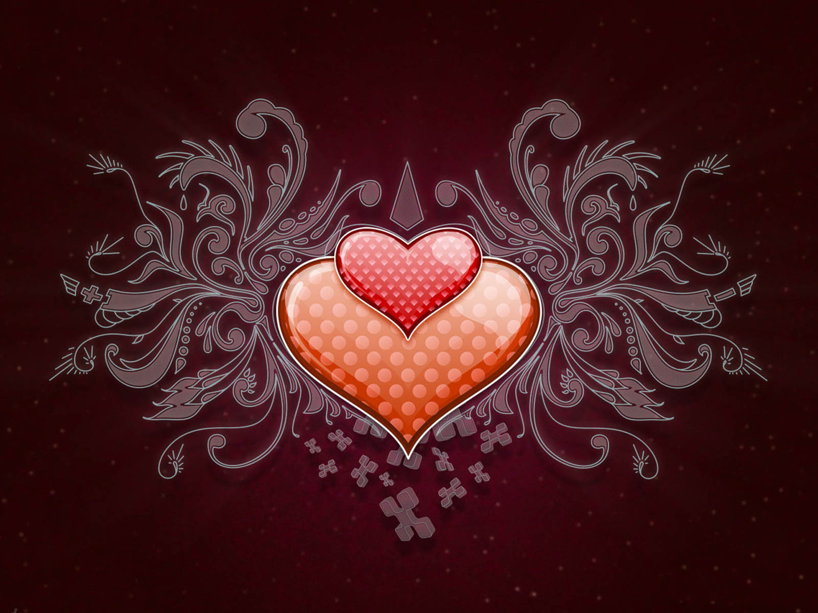 Love Heart Wallpaper Desktop : wallpapers: Love Heart Wallpapers