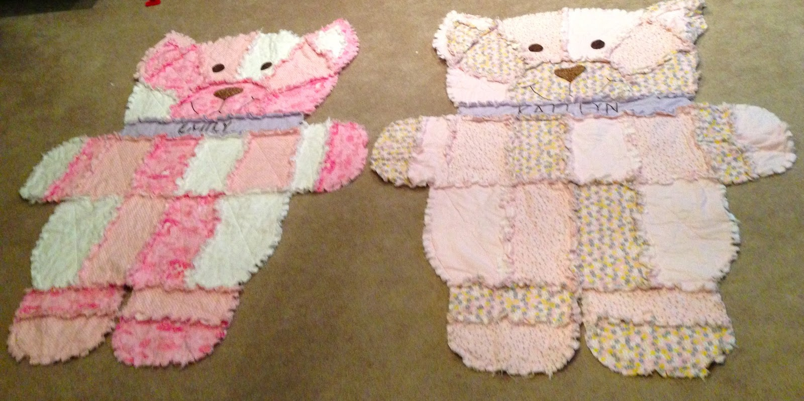 Rag Quilt Animal Patterns : Adventures in Pinteresting: Rag Quilt Animals