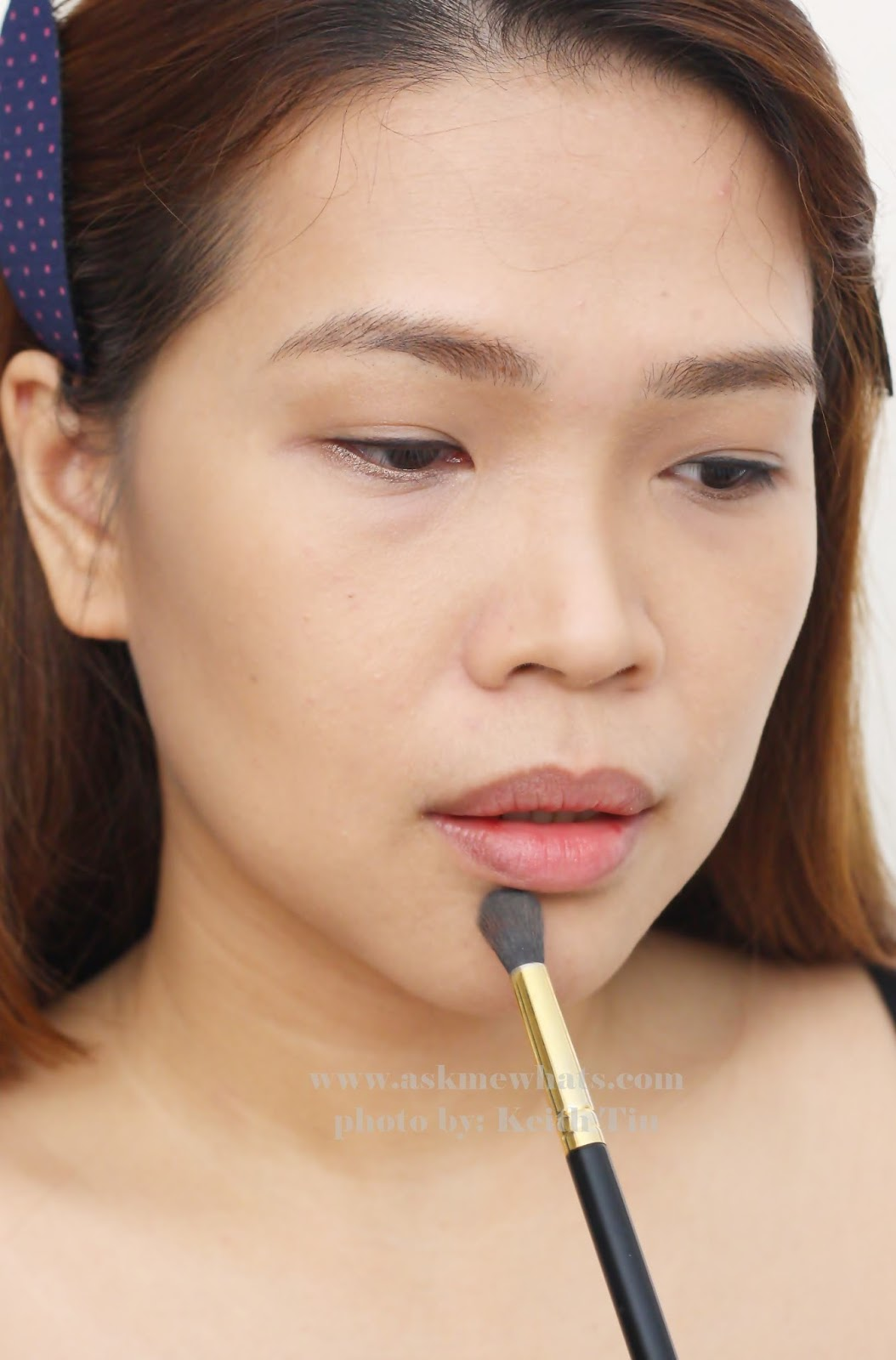 If You Find Some Obvious Demarcation, Use A Clean Big Fluffy Powder Brush  And Blend Exfoliate Your Lips