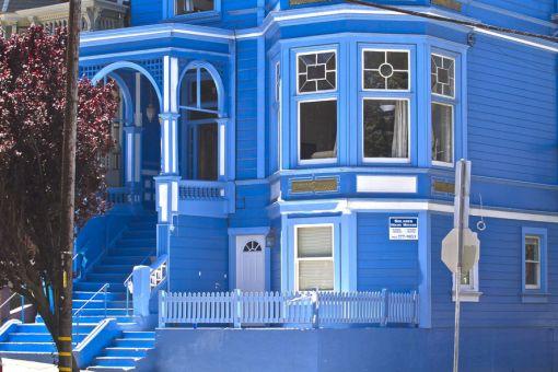 karavan papou la maison bleue. Black Bedroom Furniture Sets. Home Design Ideas