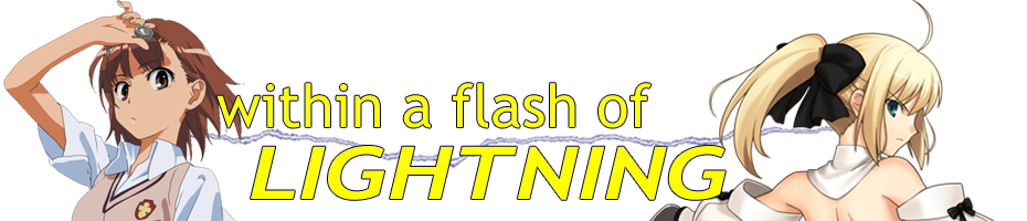 Within a Flash of Lightning