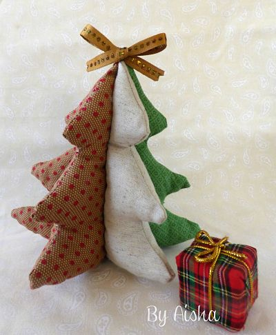 arbol navidad tela - Arbol De Navidad De Tela