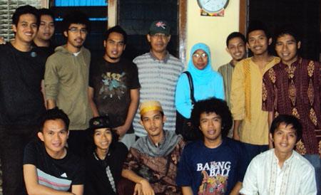 IKAMI Sulsel Malang dan Ketua KKSS Malang, Muslimin Machmud