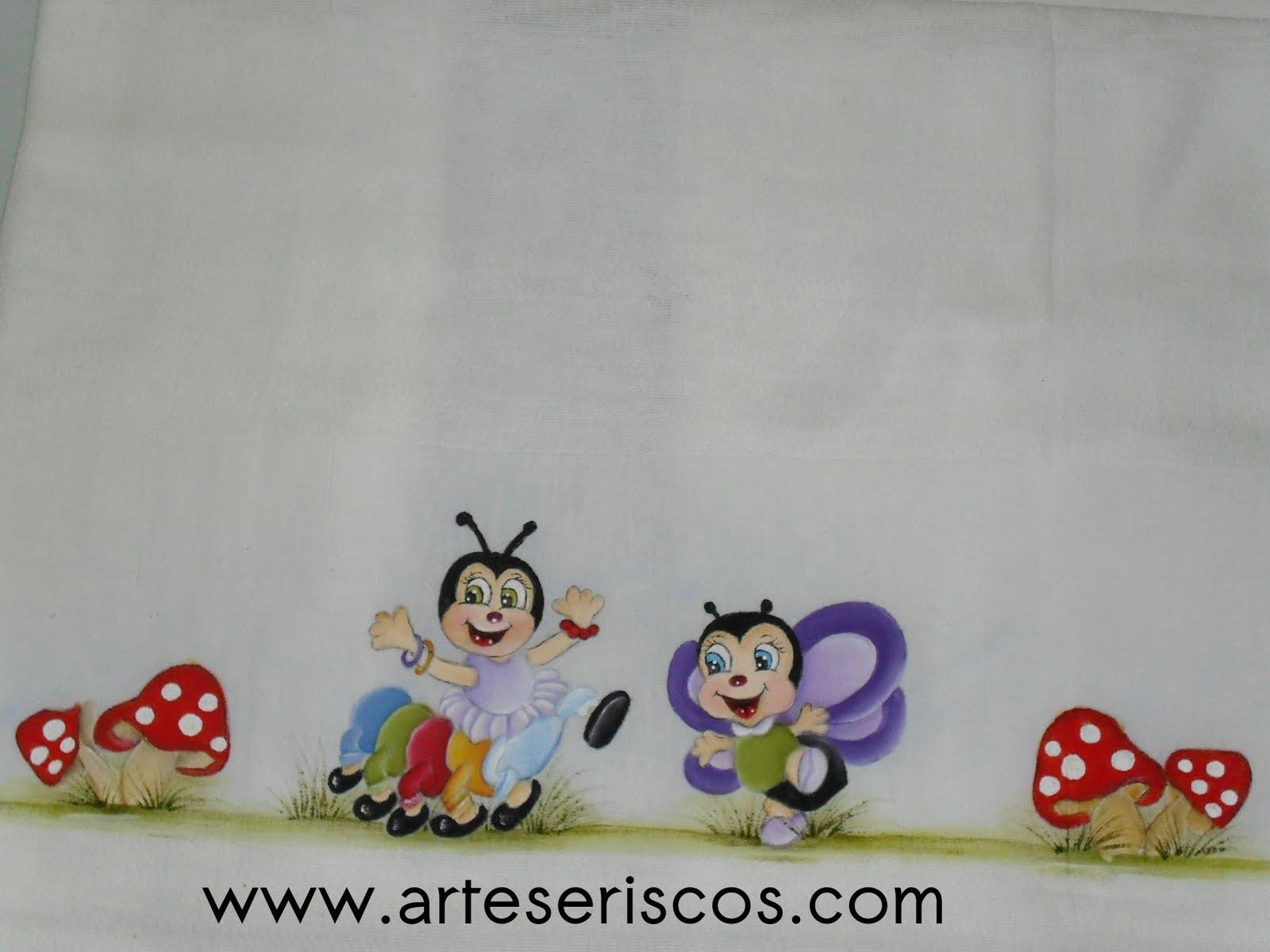 Pintura Em Tecido  Motivo  Infantil