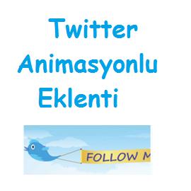 Twitter Animasyonlu Eklenti