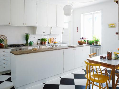 Baños Estilo Ajedrez: tanto de cocinas como de baños en distintos estilos decorativos