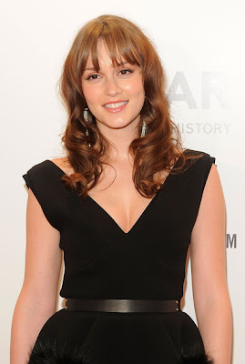 Leighton Meester Hairstyle