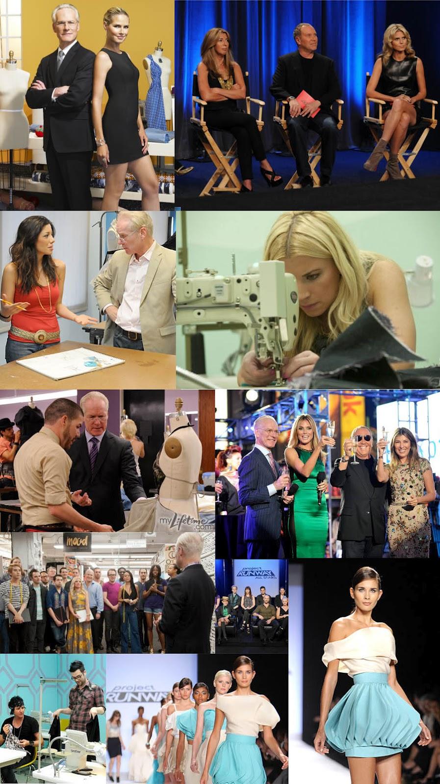 Os realitys shows de moda_Project Runway_Tim Gunn_Heidi Klum_Costureira_Estilista_Curso de modelagem_Como costurar