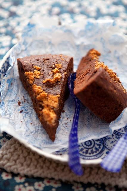 torta cioccolato fondente e castagne / chocolate cake with chestnuts