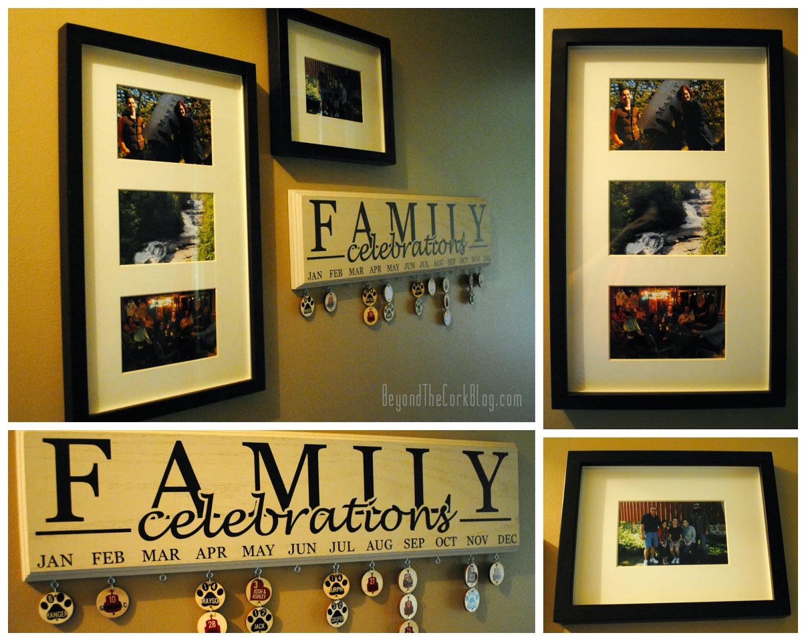 Family Celebrations Plaque Family Celebrations Plaque