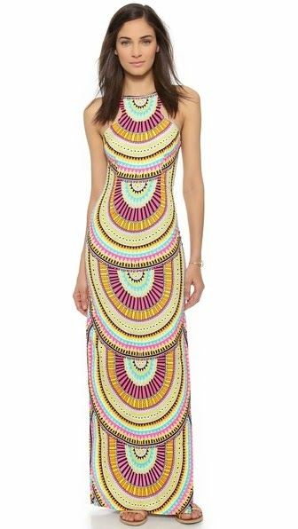 COLUMN MAXI DRESS MARA HOFFMAN