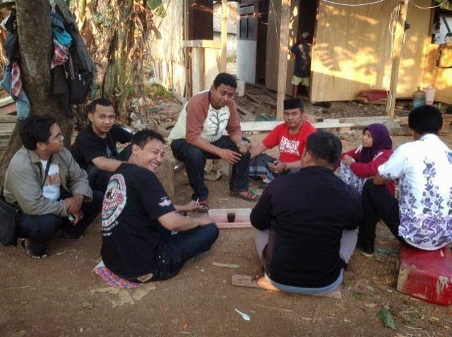 Kumpul bareng relawan di KABASA Bekasi